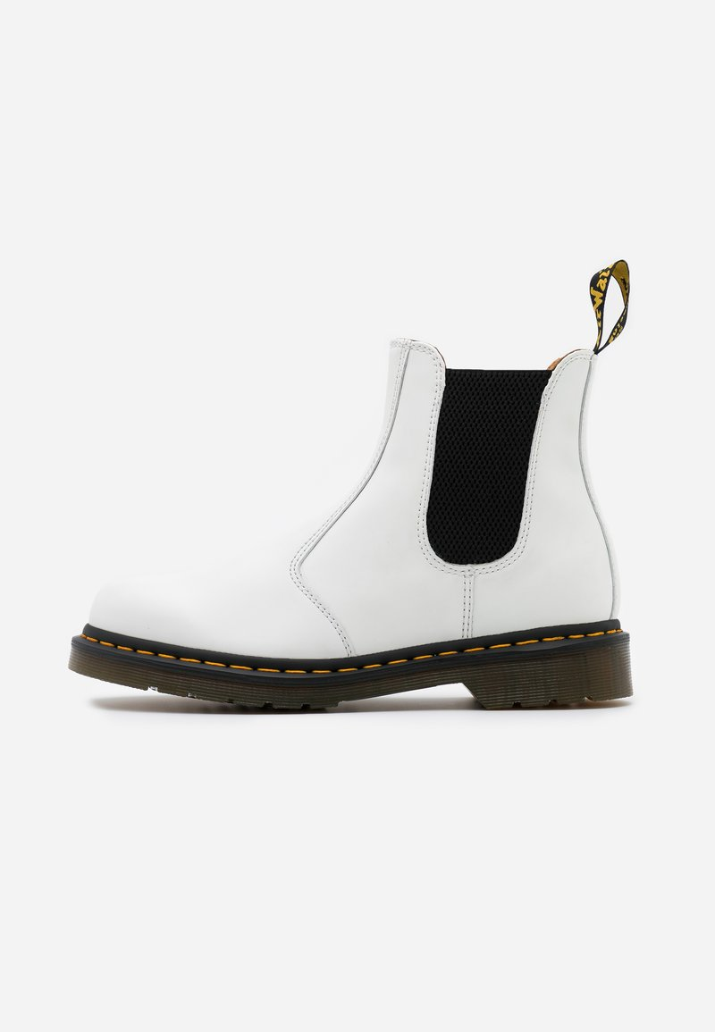 Dr. Martens - 2976 YS - Classic ankle boots - white smooth