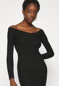 Miss Selfridge - BARDOT MINI DRESS - Shift dress - black - 3