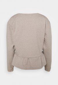 Cream - Sweatshirt - silver mink - 1