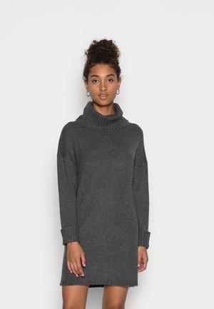 ROLLNECK - Jumper dress - dark grey