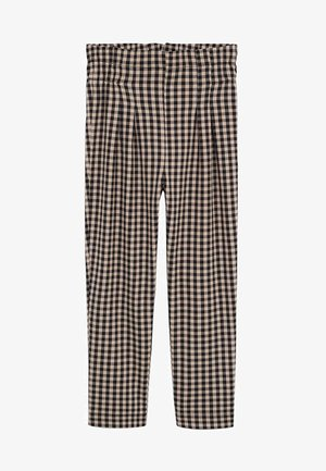 VICHY - Trousers - middenbruin