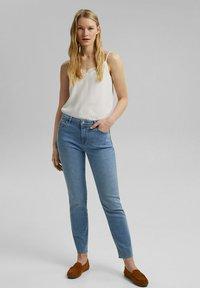 Esprit - Slim fit jeans - blue light washed - 1