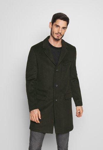 PUCLASS - Klasický kabát - khaki
