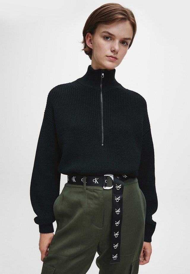 Sweter - ck black