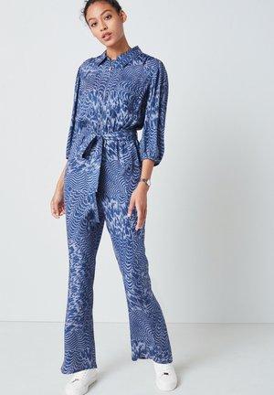 ZIPPED - Jumpsuit - blue