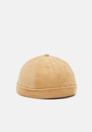 JACSTEVEN ROLL HAT - Beanie - tan