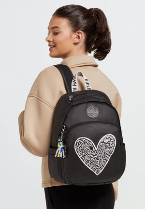 DELIA - Backpack - keith haring chalk art