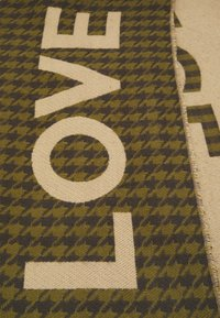 Codello - LOVE PIECE DOGTOOTH - Scarf - olive - 4