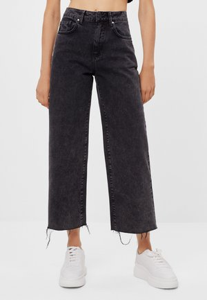 Straight leg jeans - black denim