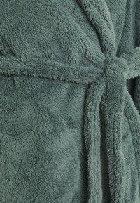 Hunkemöller - ROBE LONG SNUGGLE - Dressing gown - balsam green - 5