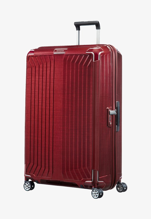 LITE-BOX - Wheeled suitcase - deep red