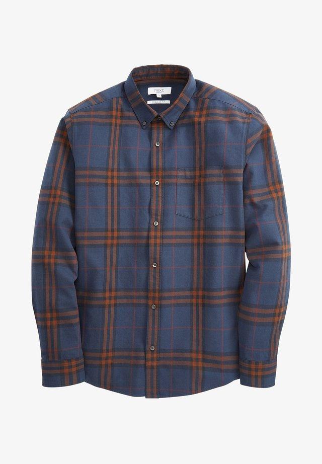 WINDOW PANE CHECK - Shirt - blue