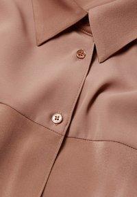 Violeta by Mango - Button-down blouse - dunkelorange - 5