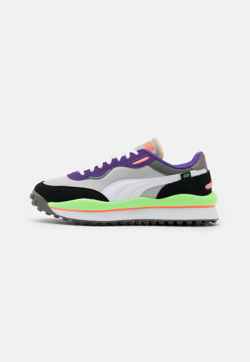 Puma - STYLE RIDER PLAY ON UNISEX - Trainers - gray violet/white