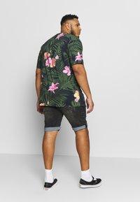 Shine Original - Denim shorts - black mud - 2