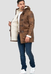 INDICODE JEANS - Winter coat - brown sugar - 1