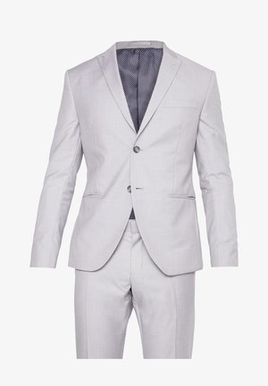 FASHION SUIT - Kostym - light grey