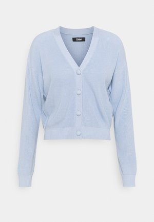 SHORT CARDIGAN - Strickjacke - blue
