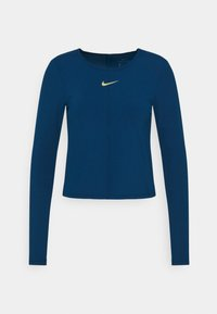 Nike Performance - Sports shirt - valerian blue/metallic gold - 0