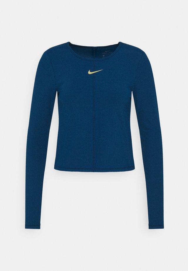 Sportshirt - valerian blue/metallic gold