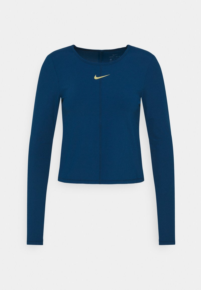 Nike Performance - Sports shirt - valerian blue/metallic gold
