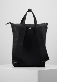 Zign - UNISEX -LEATHER - Rucksack - black - 2