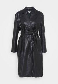 ONLTRILLION BELT COATIGAN - Classic coat - black