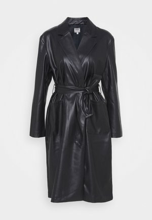 ONLTRILLION BELT COATIGAN - Classic coat - black