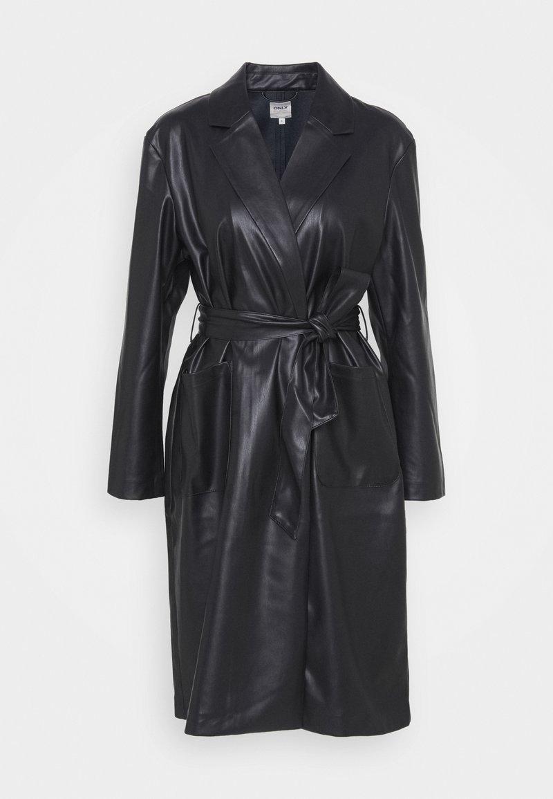 ONLY - ONLTRILLION BELT COATIGAN - Classic coat - black
