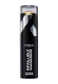 L'Oréal Paris - INFAILLIBLE CONTOUR STICK HIGHLIGHTER - Highlighter - 502 gold is cold - 1
