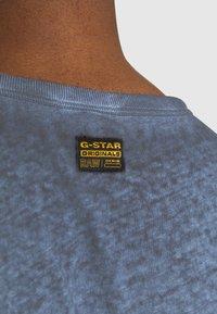G-Star - GYRE KNOT CAP - Print T-shirt - blue - 5