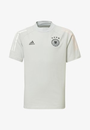DEUTSCHLAND DFB TEE - Camiseta estampada - cool grey