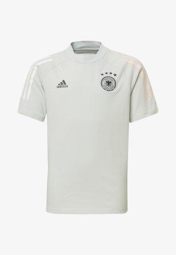 DEUTSCHLAND DFB TEE - Print T-shirt - cool grey