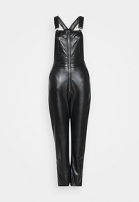 Missguided - DUNGAREE - Overal - black - 4
