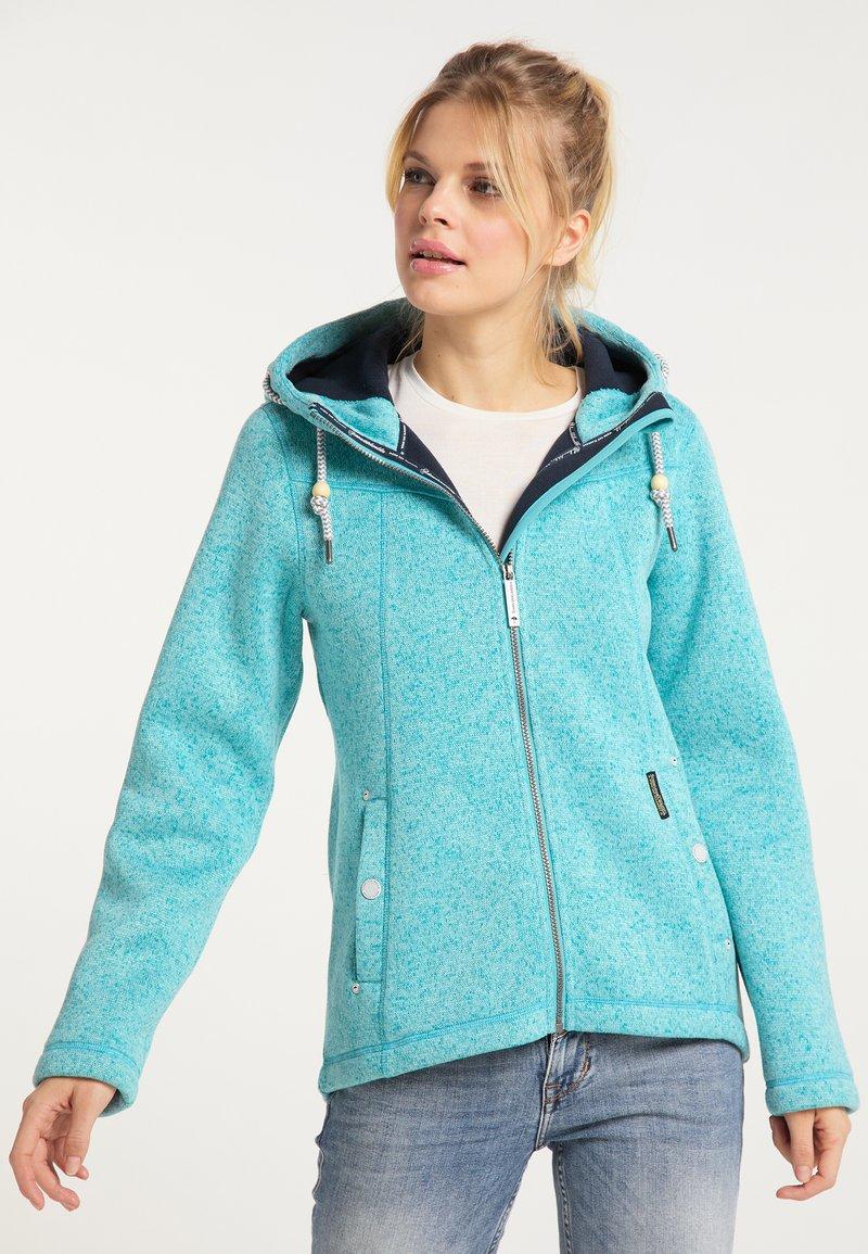 Schmuddelwedda - Winter jacket - türkis melange