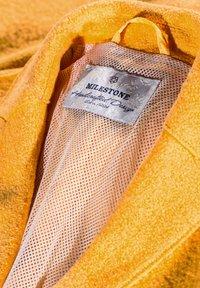 Milestone - ABRA - Classic coat - sonnengelb - 3