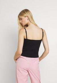 Nike Sportswear - CAMI - Top - black/white - 2