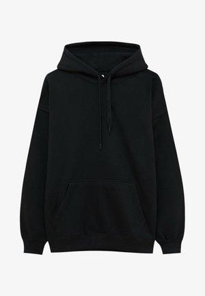 OVERSIZE - Hoodie - mottled black