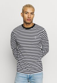 Obey Clothing - ICON BOX TEE - Long sleeved top - black multi - 0