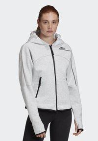 adidas Performance - ADIDAS Z.N.E. HOODIE - Zip-up hoodie - grey - 6