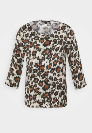 BLOUSE 3/4 SLEEVE - Bluser - offwhite multi-coloured