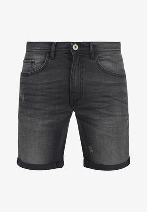 LUKE - Denim shorts - dark-blue denim