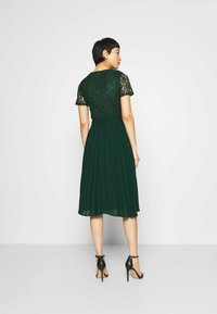 Dorothy Perkins - ALICE PLEAT MIDI - Cocktail dress / Party dress - green