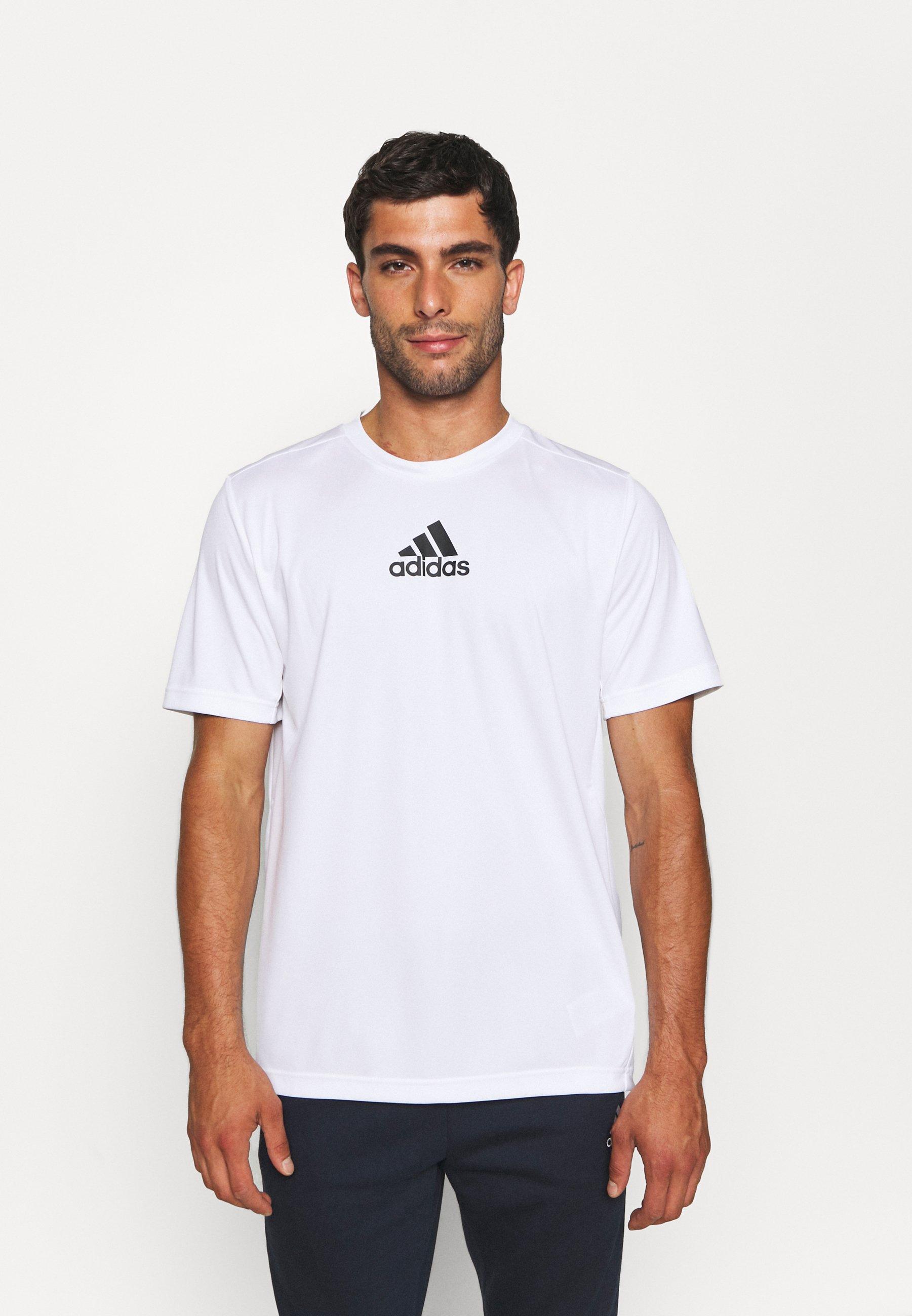 Uomo 3 STRIPES BACK DESIGNED 2 MOVE AEROREADY - T-shirt con stampa