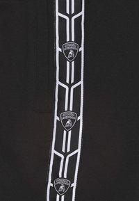 Automobili Lamborghini Kidswear - SHIELD TAPE - Shorts - black pegaso - 2