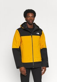 The North Face - MOUNTAIN LIGHT TRICLIMATE JACKET - Down jacket - citrine yellow/black - 0