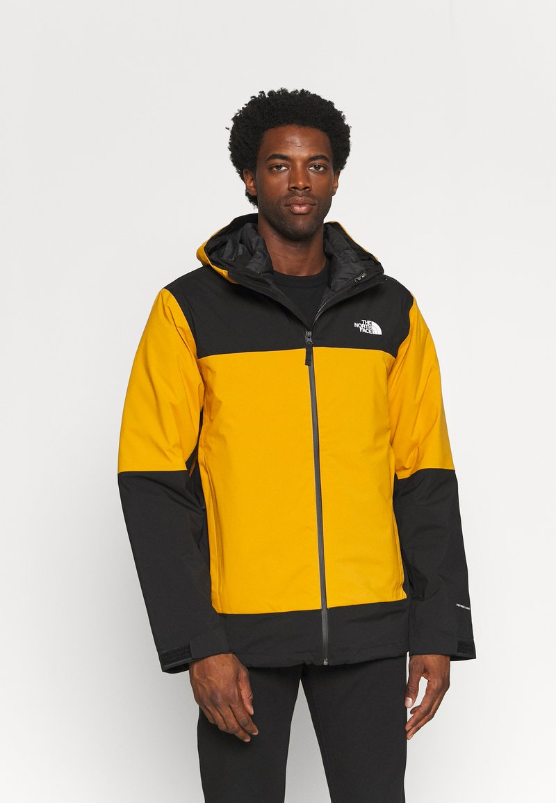 The North Face - MOUNTAIN LIGHT TRICLIMATE JACKET - Down jacket - citrine yellow/black