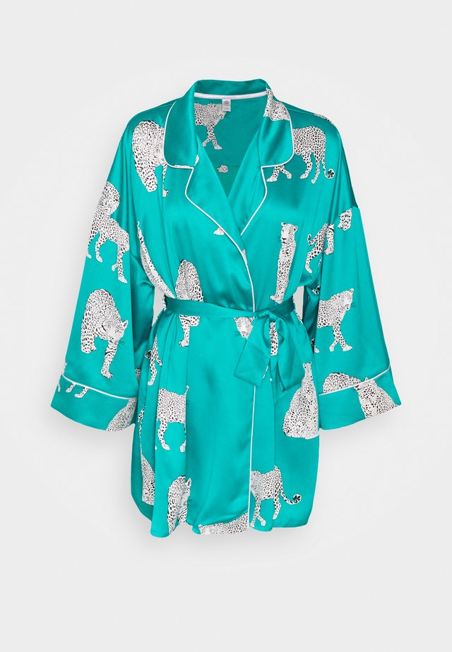 Dressing gown - green
