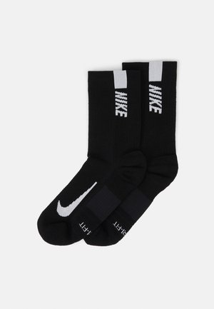 2 PACK UNISEX - Sports socks - black/white
