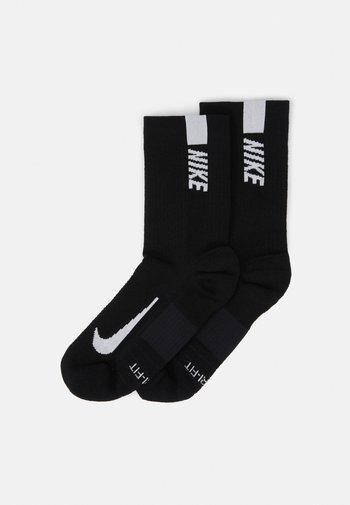 2 PACK UNISEX - Sportssokker - black/white